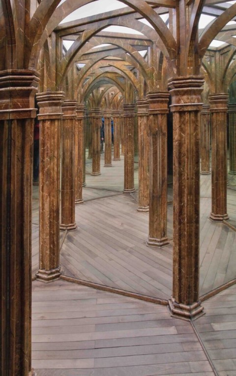 Mirror Maze - popular attraction in Prague
