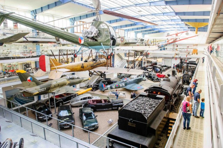 Children love to visit the National Technical Museum