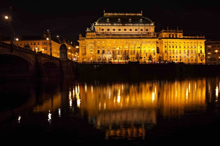The most famous building in Prague looks stunning at night