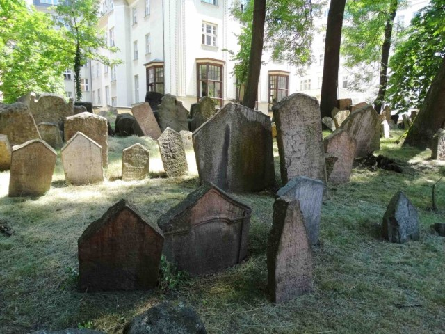 The Old Jewish Cemetery is one of the largest of its kind in Europe