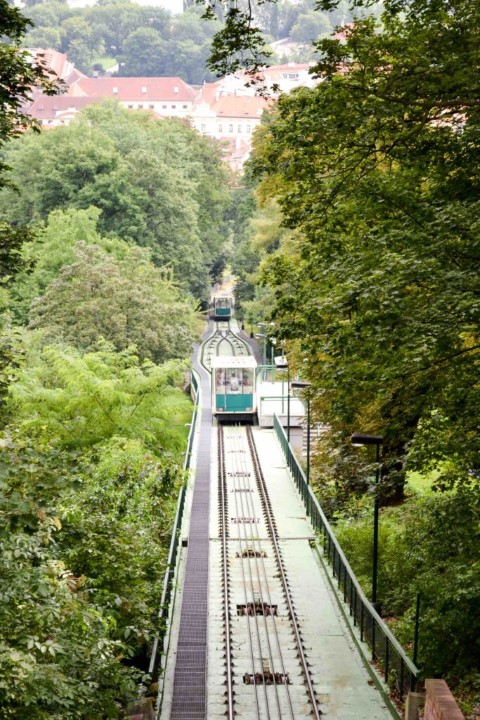 Petřín Hill Funicular will take to straight to the top