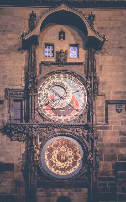 """The astronomical clock, also known as """"Staroměstský orloj"""", is one of the top sights in Prague"""