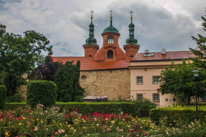 Rose Garden on Petřín Hill