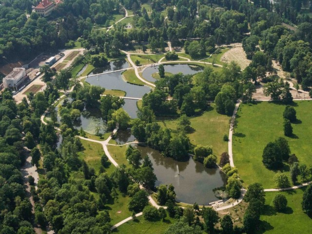 Stromovka is perfect place for spending time with children or with pets